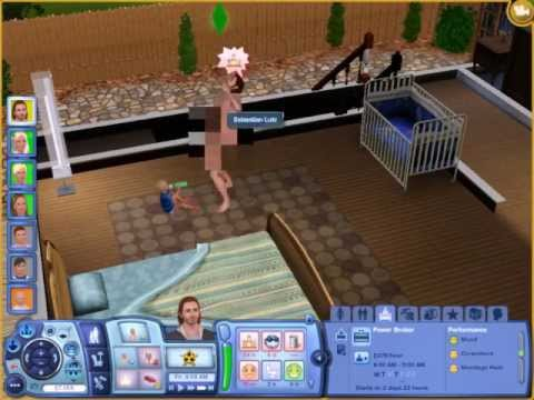 Cheat for sims naked in shower