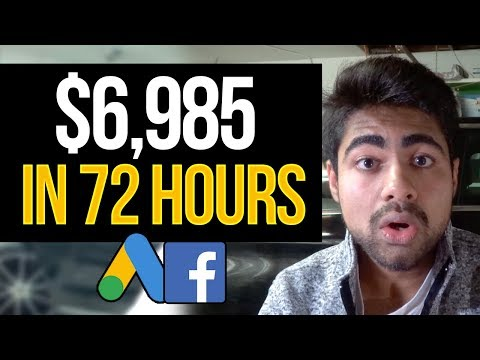$6,985 In 72 HOURS With Shopify Dropshipping (Here's What I Did)   Step By Step Dropshipping Guide thumbnail