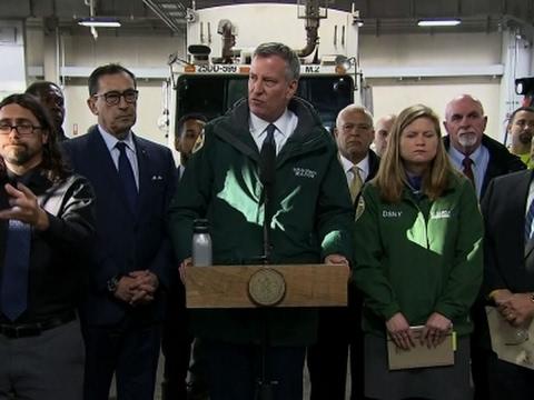 NYC Mayor de Blasio Declares State of Emergency