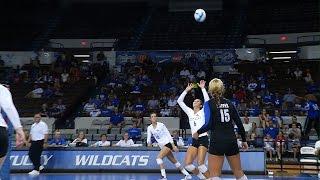 Kentucky Wildcats TV: Kentucky Volleyball vs. Virginia Tech 8/30/14