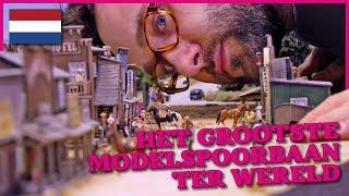 Miniatur Wunderland OFFICIËLE VIDEO - grootste modelspoorbaan ter wereld