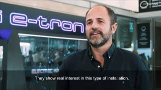 AUDI E-Tron launch by HYPERVSN