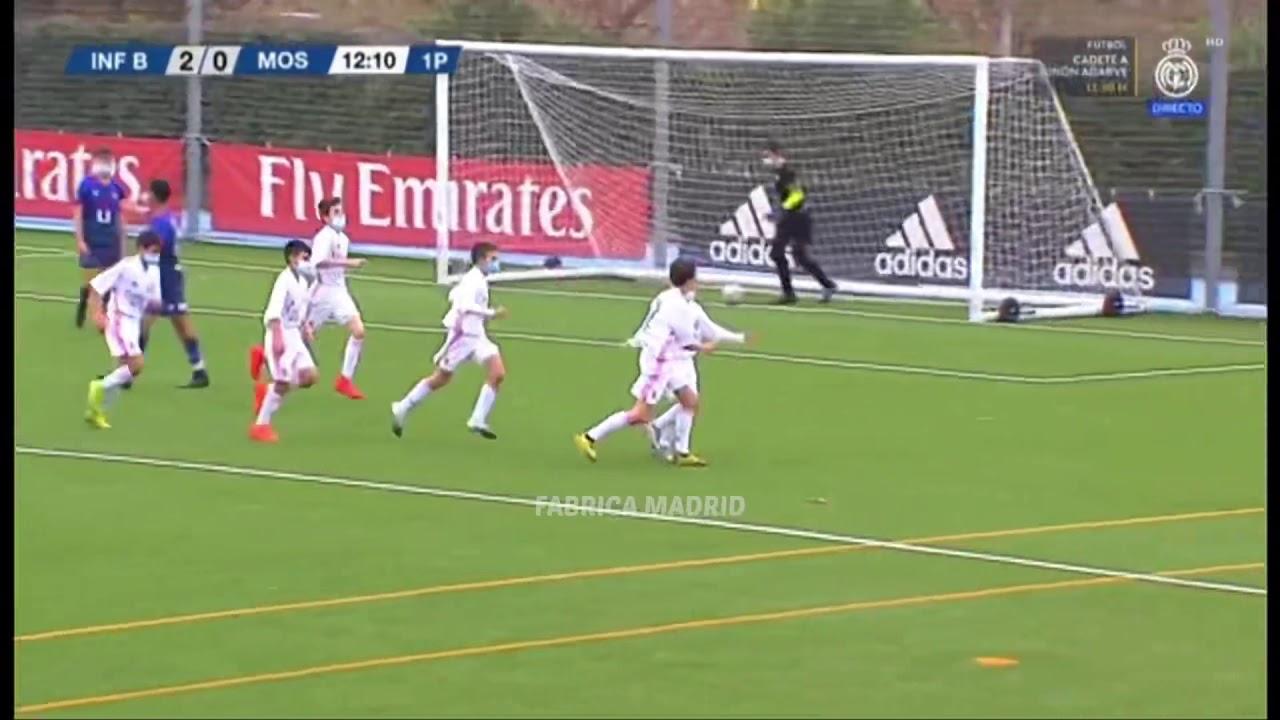 Izan Lucas - Real Madrid Infantil B (U13) vs Móstoles (28/11/2020)