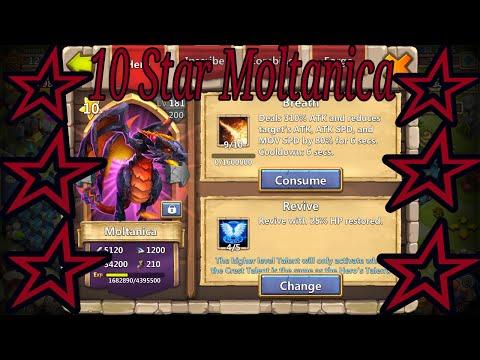 Castle Clash 10 Star Moltanica - IGG