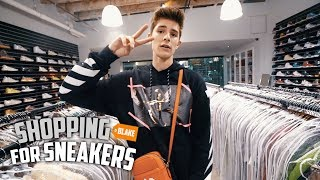 Blake Linder Goes Shopping For Sneakers  At SoleStage