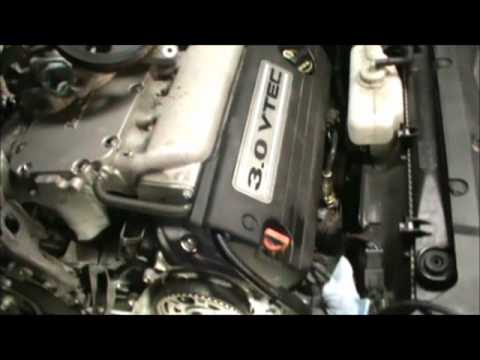 Honda timing belt vid 1 YouTube