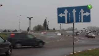 На Иртышском  мосту появились новые дорожные  знаки