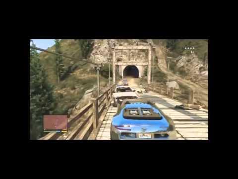 GTA V - Distractie pe manele