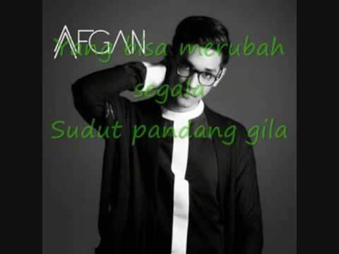 afgan   kunci hati (lyrics)