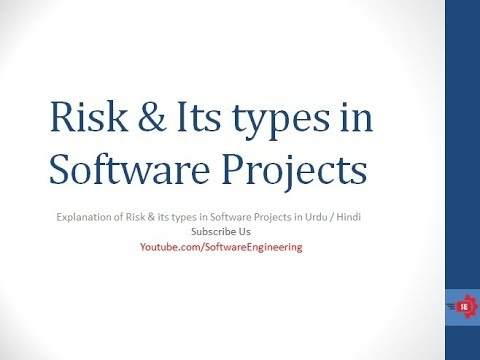 risks in software projects