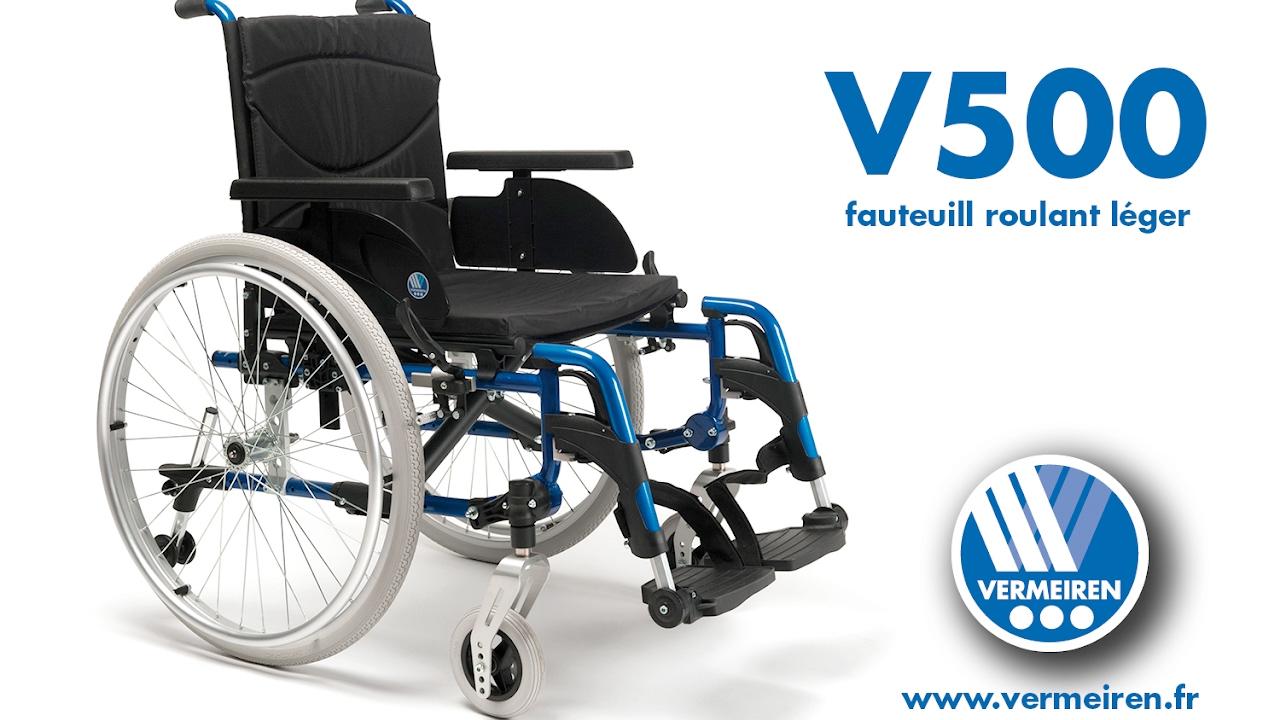 Manuel V500 • Fauteuil Léger Roulant Vermeiren 8yPvwOmN0n
