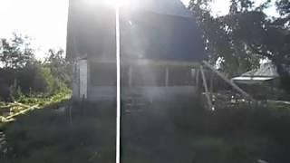 Ломаная крыша , зашиваю фронтоны .