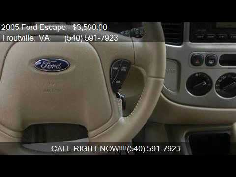 2005 Ford Escape XLT AWD 4dr SUV for sale in Troutville, VA