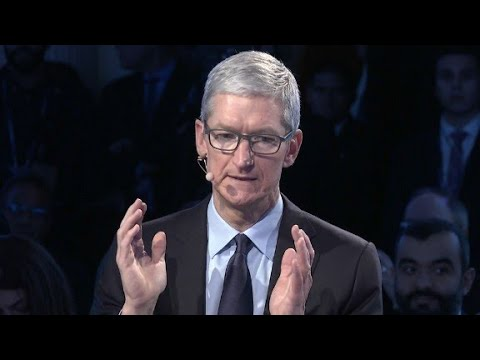 "Tim Cook on DACA: This is, ""are we human?"""