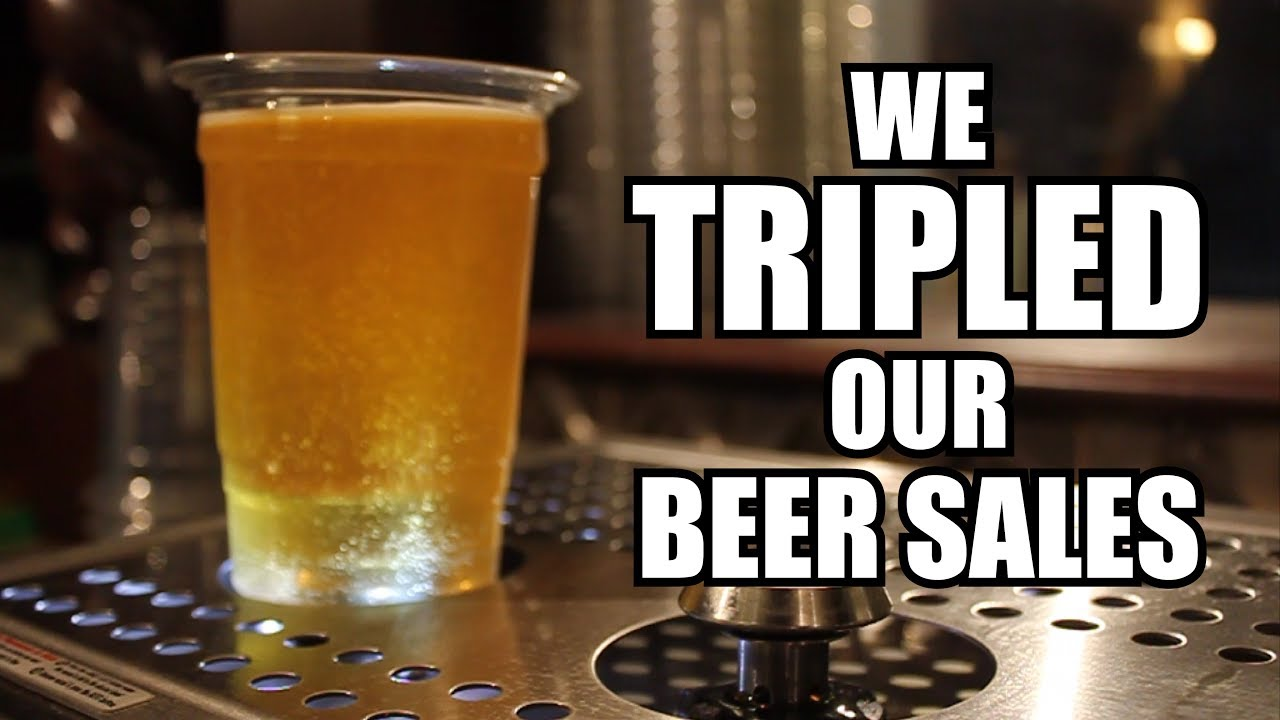 We Tripled our Beer Sales!  Indiana Repertory Theatre Bottoms Up Testimonial