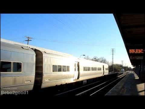 MTA Long Island Railroad: Four Trains at Floral Park, NY RR [M3, M7, DE30]