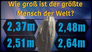 Wie groß ist der größte Mensch der Welt? - Marcos Quizshow (Ep.34)