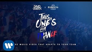 Скачать David Guetta Ft Zara Larsson This One S For You France UEFA EURO 2016 Official Song