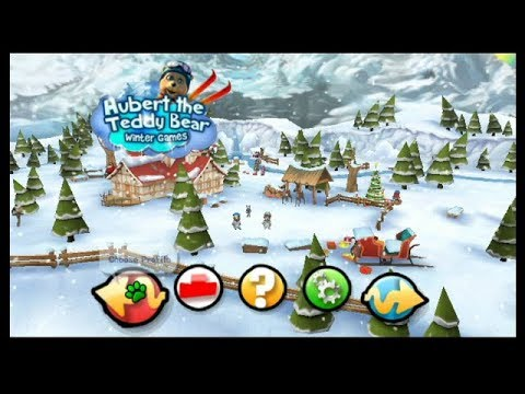 Hubert the Teddy Bear: Winter Games Wii Playthrough - Merry Christmas