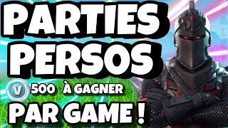 I OFFER SKINS IN PERSOS PARTIES! - LIVE FORTNITE!