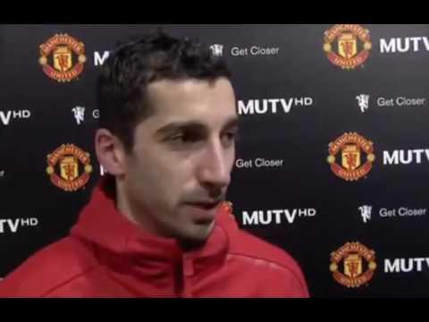 Manchester United 3:1 Sunderland - Henrikh Mkhitaryan Post Match Interview 26.12.2016