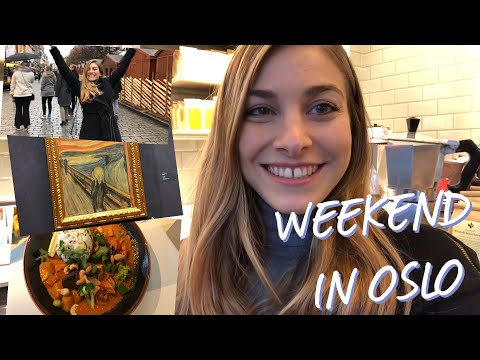 My Weekend in Oslo, Norway - TRAVEL DIARY - Alexandra Jane