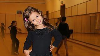 Дети 4-6 лет. Урок бальных танцев. Kids. Ballroom Dance Lesson.