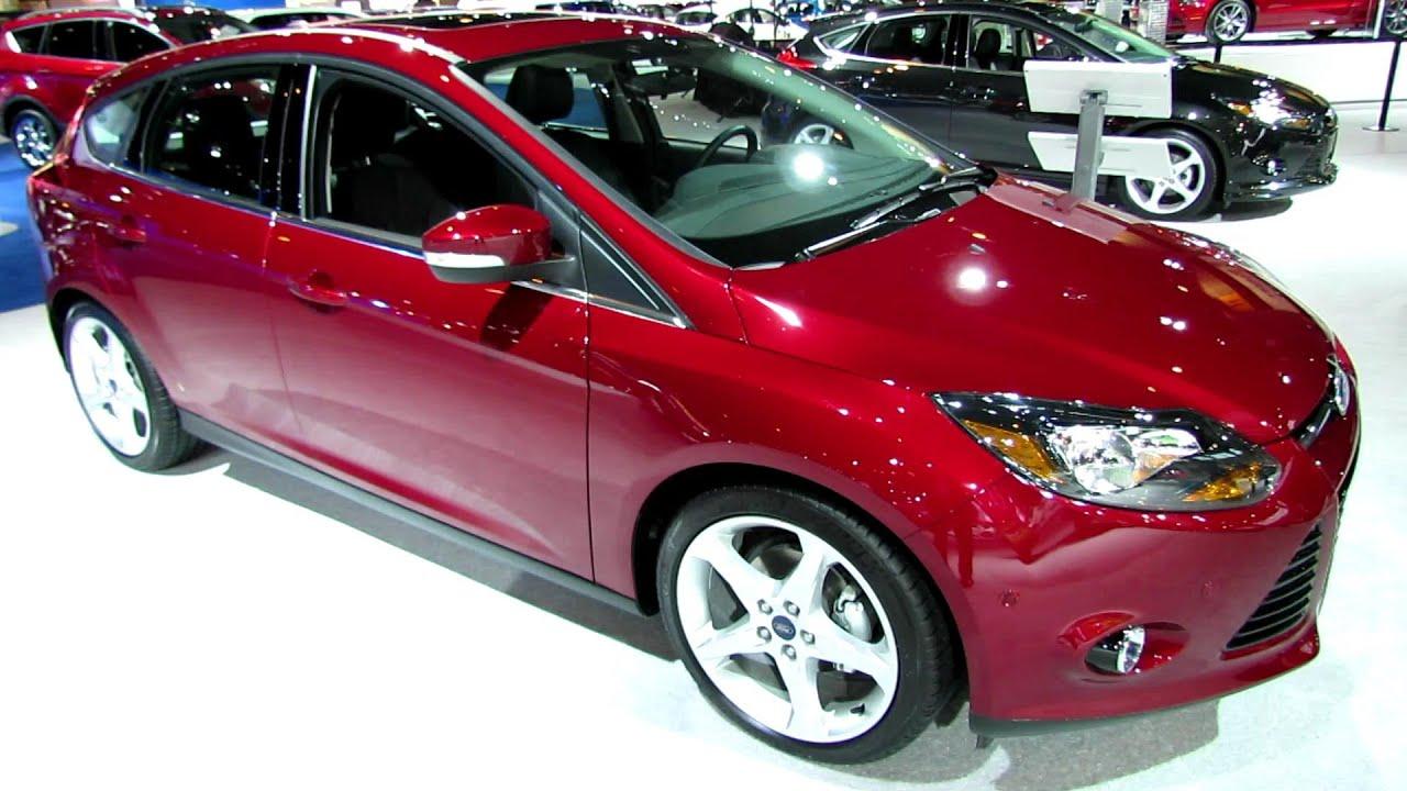 2014 Ford Focus Titanium Hatchback Exterior and Interior