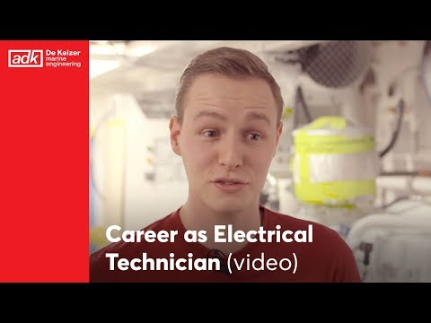 Come work for us: Become a Electrical Technician in Red!