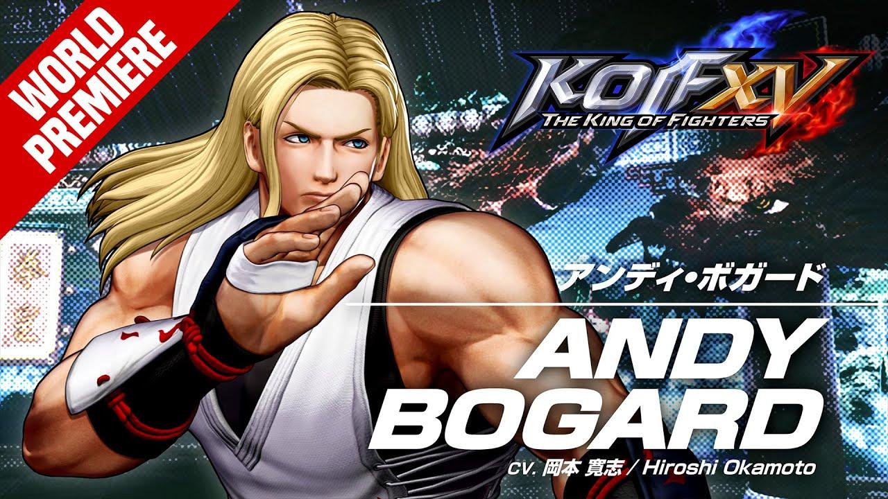 KOF XV|ANDY BOGARD|Character Trailer #8 (4K)