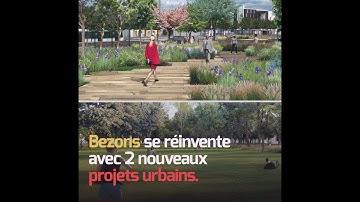 Parc Bettencourt et Mail Leser : projets urbains végétalisés à Bezons