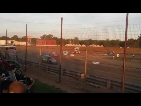 Summit Modifieds Heat 4  Charleston Speedway
