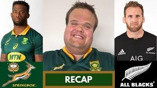 Springboks v All Blacks RECAP | Rugby Championship 2018 Round 6