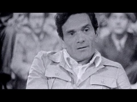 Pier Paolo Pasolini Speaks