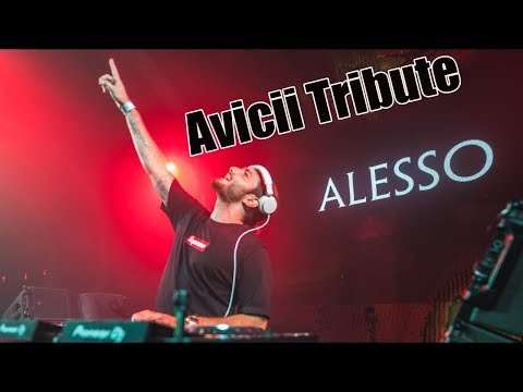 AVICII vs COLDPLAY vs THE CHAINSMOKERS  (Alesso Mashup) - Tomorrowland 2018