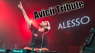 AVICII Vs COLDPLAY Vs THE CHAINSMOKERS Alesso Mashup Tomorrowland 2018