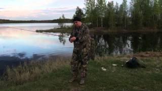 Отдых на озере, рыбалка. П. Нижний Доманик 3 шахта.