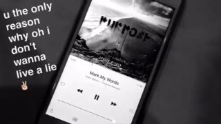 my fav song purpose by biebss / capture w snapchat / my 1 videoo 💕