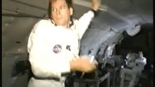 Apollo 13 Test Shoot - Playing Catch in Zero Gravity