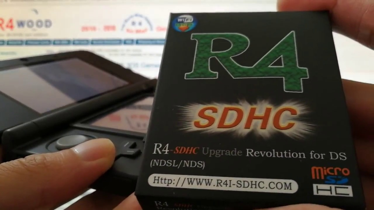 R4 SDHC Card for DS YSMenu Kernel Compatible