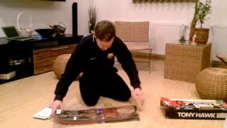 Tony Hawk Shred Xbox360 - Unboxing