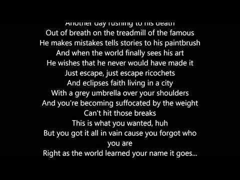 Arrows - Fences ft MACKLEMORE [Lyrics]