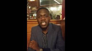 Serge Douomong's International AIDS Conference Video