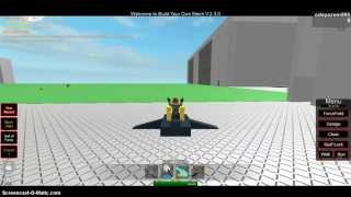 ROBLOX Build Your Own Mech How to Make a Flying plane