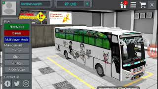Dhoom horn in bus simulator indonesia