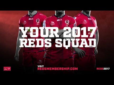 2017 St.George Queensland Reds Squad