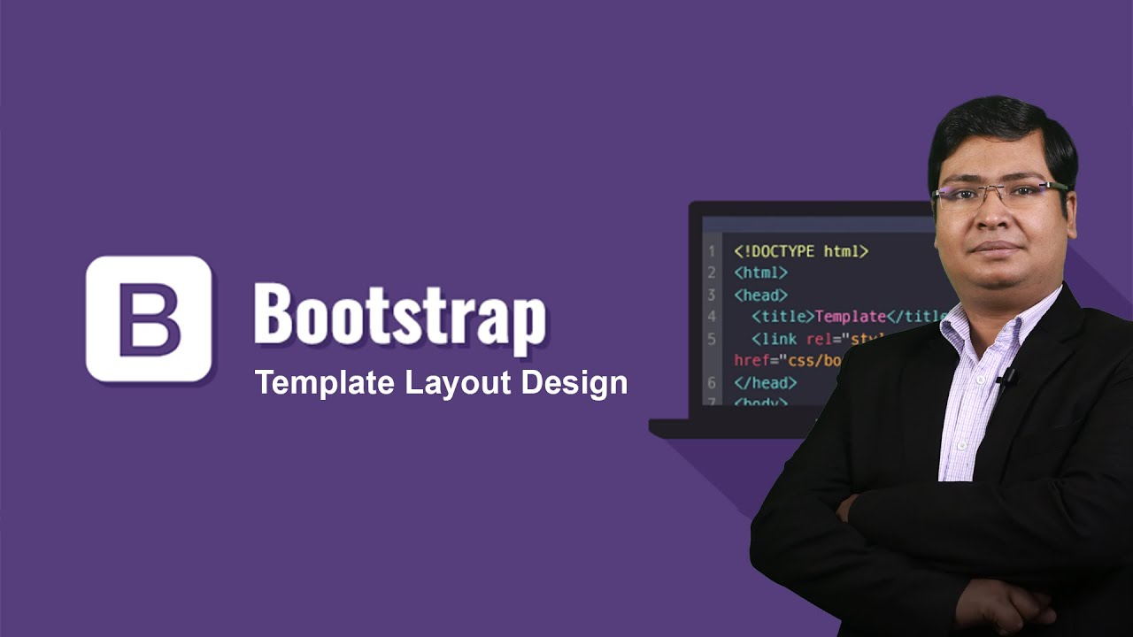 Basic Website Layout Design with Bootstrap 5 - FullStack Series Part 1