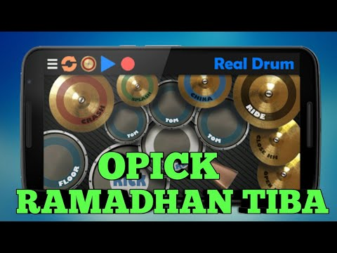 Opick - Ramadhan Tiba | Real Drum Cover
