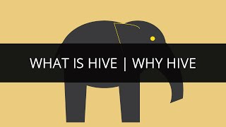 What is Hive | Why Hive | Apache Hive Tutorial 1
