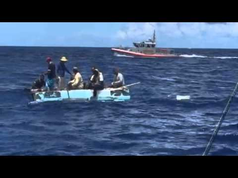 Cuban migrants found 20 miles from Miami
